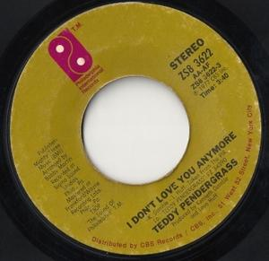 Single Cover Teddy - I Don't Love You Anymore Pendergrass