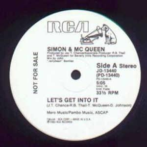 Single Cover Simon And Mcqueen - Let's Get Into It