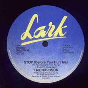Single Cover T. - Stop (before You Hurt Me) Richardson