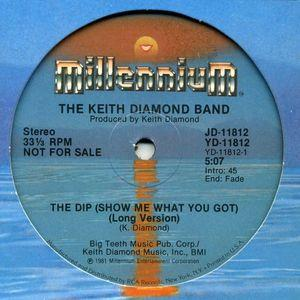 Single Cover The Keith - The Dip (show Me What You Got) Diamond Band
