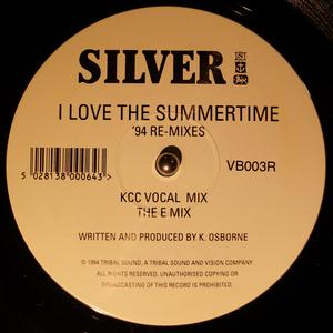 Single Cover Silver - I Love The Summertime