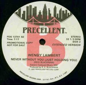 Single Cover Wendy - Never Without You (just Holding You) Lambert
