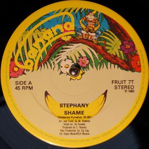 Single Cover Stephany - Shame