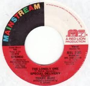 Single Cover Terry - The Lonely One Huff And Special Delivery