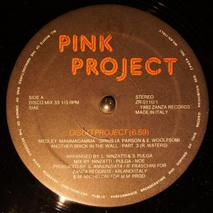 Single Cover Pink Project - Disco Project
