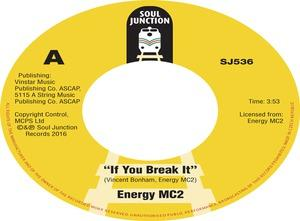Single Cover Energy Mc2 - If You Break It
