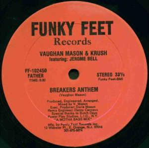 Single Cover Vaughan - Breakers Anthem Mason