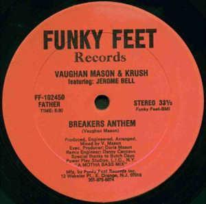 Single Cover Vaughan - Breakers Anthem Mason