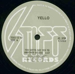 Single Cover Yello - You Gotta Say Yes To Another Excess