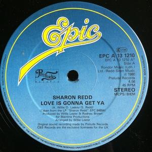 Single Cover Sharon - Love Is Gonna Get Ya Redd