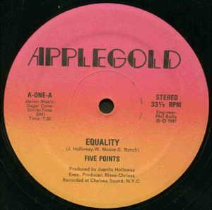 Single Cover Five Points - Equality