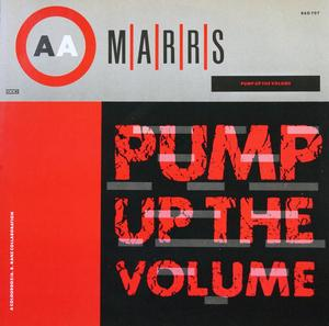 Single Cover Marrs - Pump Up The Volume