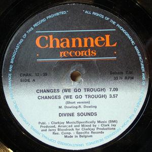 Single Cover Divine Sounds - Changes (we Go Through)