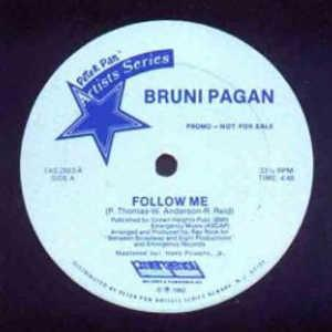Single Cover Bruni - Follow Me Pagan