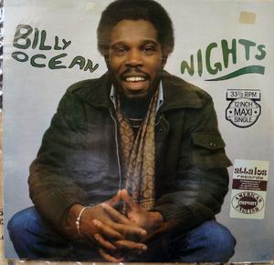 Single Cover Billy - Nights Ocean