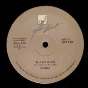Single Cover Zenda - The Waiting