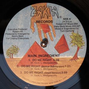 Single Cover The - Do Me Right Main Ingredient