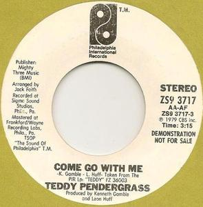 Single Cover Teddy - Come Go With Me Pendergrass
