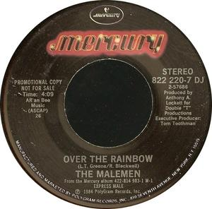 Single Cover The - Over The Rainbow Malemen