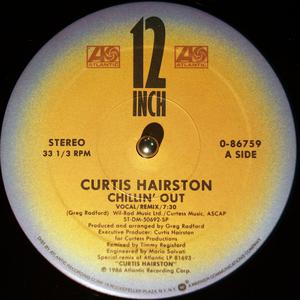 Single Cover Curtis - Chilling Out Hairston