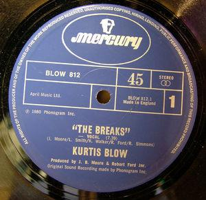Single Cover Kurtis - The Breaks Blow