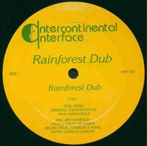 Single Cover Rainforest Dub (paul Hardcastle) - Rainforest Dub
