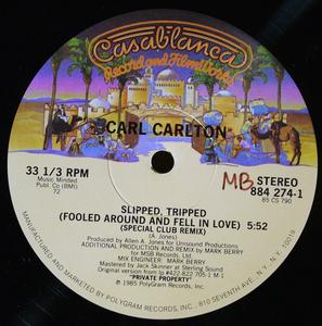 Single Cover Carl - Slipped Tripped Carlton