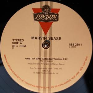 Single Cover Marvin - Ghetto Man Sease