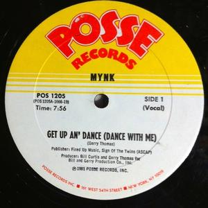 Single Cover Mynk - Get Up And Dance (dance With Me)