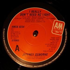 Single Cover Jeffrey - I Really Don't Need No Light Osborne
