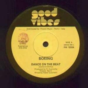 Single Cover Boeing - Dance On The Beat
