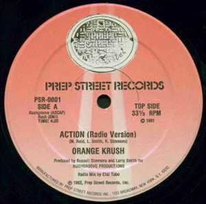 Single Cover Orange Krush - Action