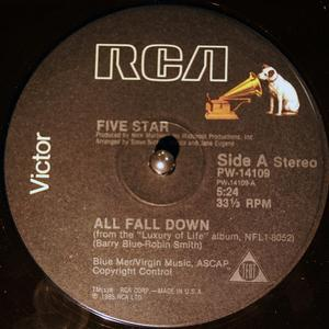 Single Cover Five Star - All Fall Down