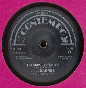 Single Cover J.j. - The Errol Flynn Barnes
