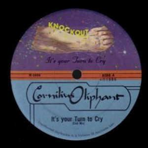 Single Cover Cornelius - It's Your Turn To Cry Oliphant