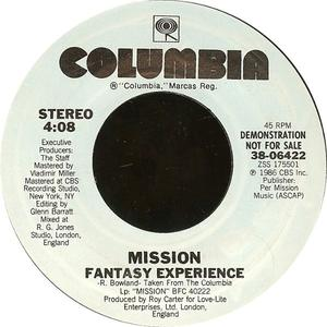 Single Cover Mission - Fantasy Experience