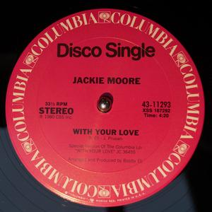 Single Cover Jackie - With Your Love Moore