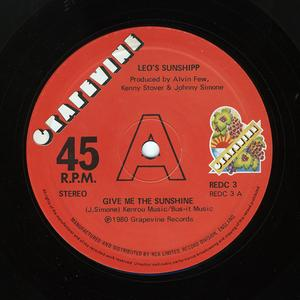 Single Cover Leo's - Give Me The Sunshine Sunshipp