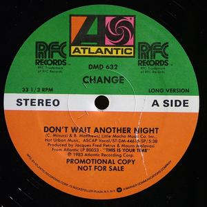 Single Cover Change - Don't Wait Another Night