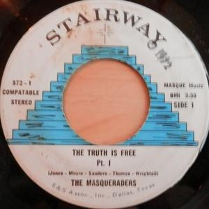 Single Cover The - The Truth Is Free Masqueraders