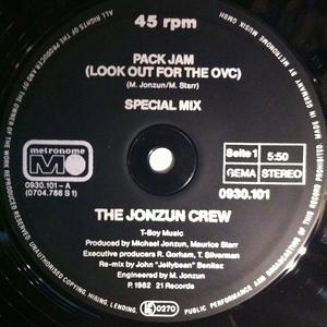 Single Cover Jonzun Crew - Pack Jam (look Out For The Ovc)
