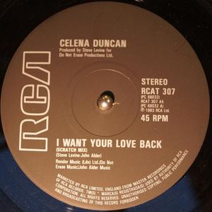 Single Cover Celena - I Want Your Love Back Duncan