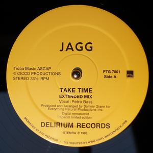 Single Cover Jagg - Take Time