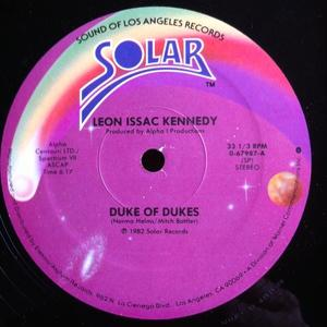 Single Cover Leon Issac - Duke Of Dukes Kennedy