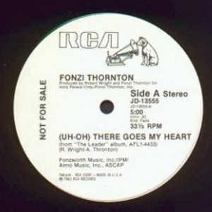 Single Cover Fonzi - (uh-oh) There Goes My Heart Thornton