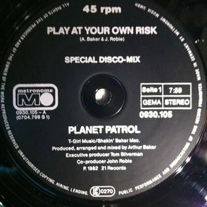 Single Cover Planet Patrol - Play At Your Own Risk