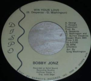 Single Cover Bobby - Win Your Love Jonz