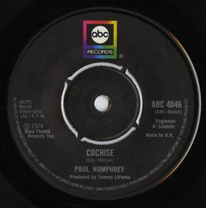 Single Cover Paul - Cochise Humphrey