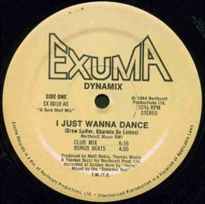 Single Cover Dynamix - I Just Wanna Dance