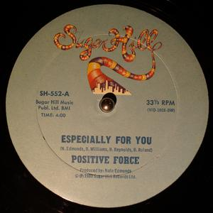 Single Cover Positive Force - Especially For You